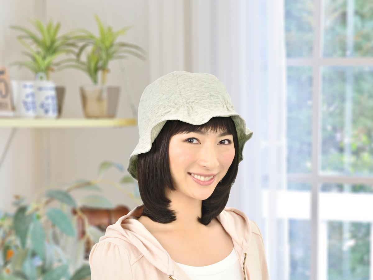 軽くて気持ちいい 圧迫感ゼロのおやすみ帽子