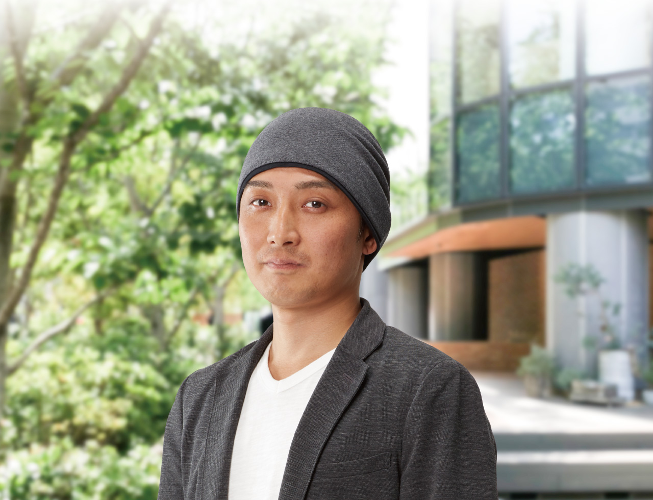 頭皮に優しい男性のための医療向け帽子